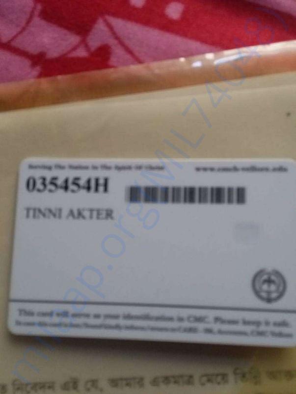 CMC Card of Tinni