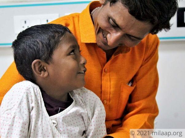 Help Kanhya Kadam to undergo his treatment
