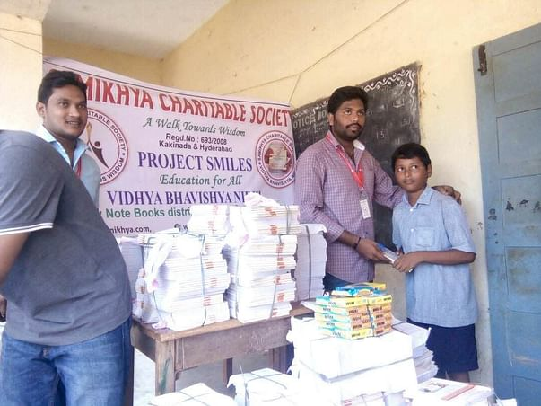 Help Samikhya Provide Government Rural School Children with Notebooks