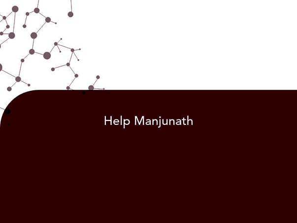 Help Manjunath