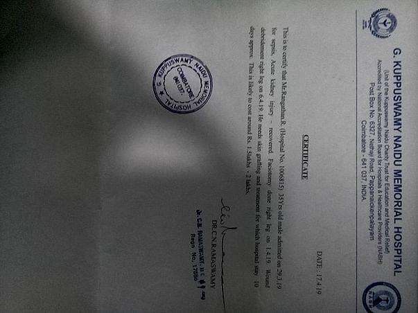 Help Ranganathan Fight Sepsis