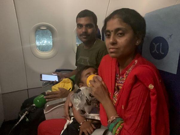 Help CRPF's Personnel's Son Undergo A Bone Marrow Transplant
