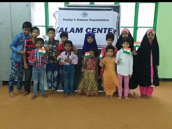Support for 1 Kalam Center and Benefit 25 slum Kids