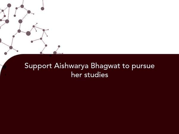 Help Aishwarya Finish Her Education