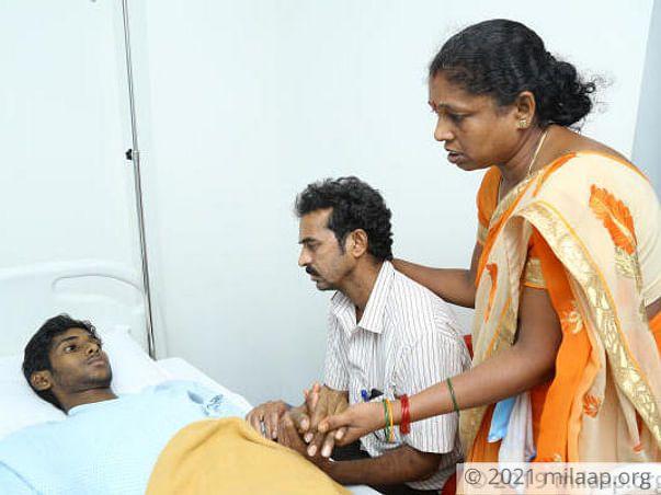 Nelavalli Avinash needs your help to undergo Liver transplant
