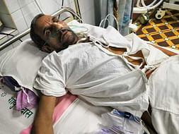 brain hemorrhage Operation, Poor farmer, Family Dependent on him