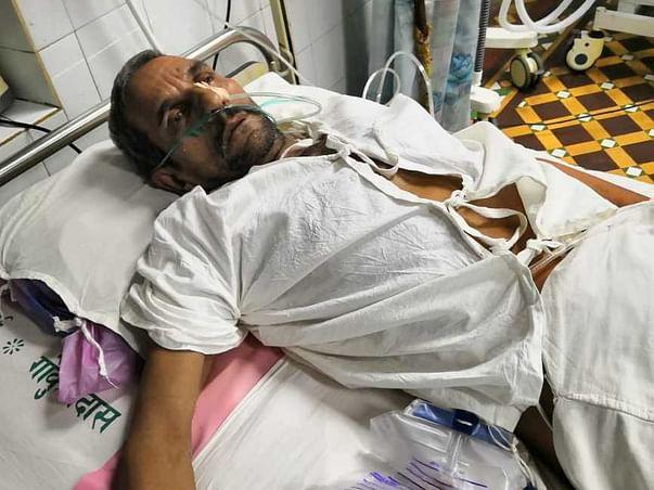 Brain Hemorrhage Operation, Poor farmer, Senior Citizen