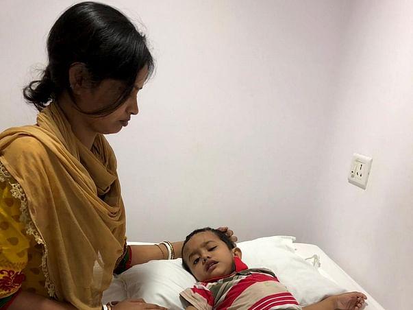 Help Ansh Undergo Brain Tumor Treatment