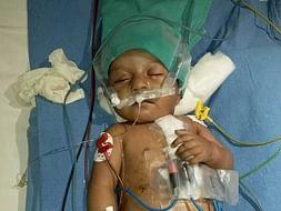 Help Baby Sudeep Kumar Pandey