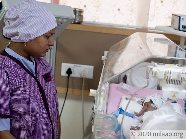 Baby of Nisha  needs your help to survive