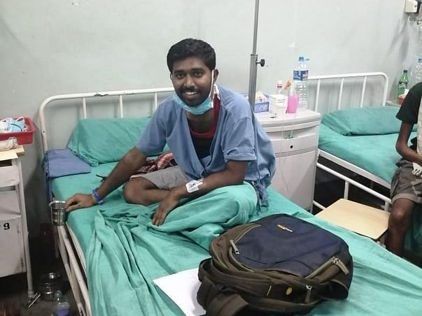 Help Ramesh to fight blood cancer