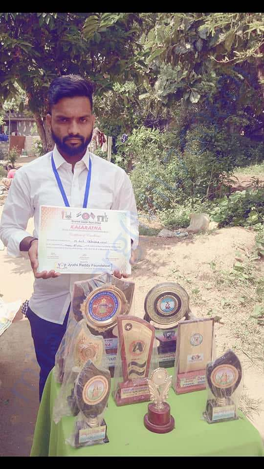 Anil - with his achievements