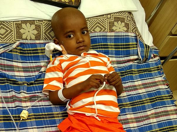 Please Save This Little Warrior Who Is Fighting With Liver Cancer