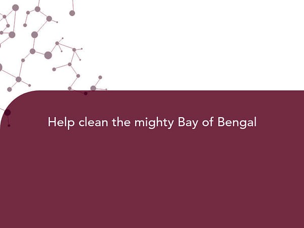 Help clean the mighty Bay of Bengal