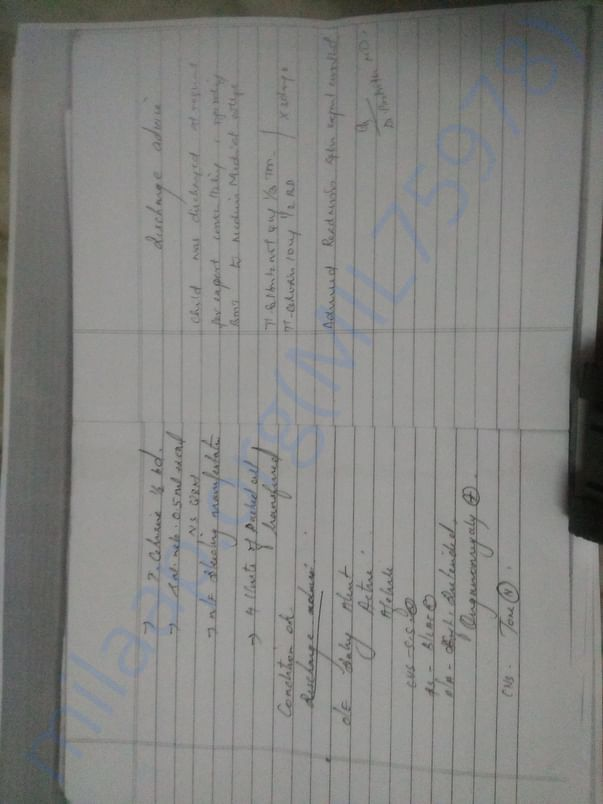 Medical report from government hospital
