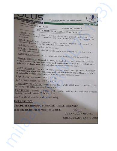 Rakesh Patnaik_ultrasound report 1st opinion