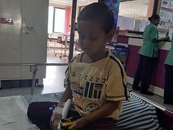 Help 3 Year Old Sanskar Fight Blood Cancer