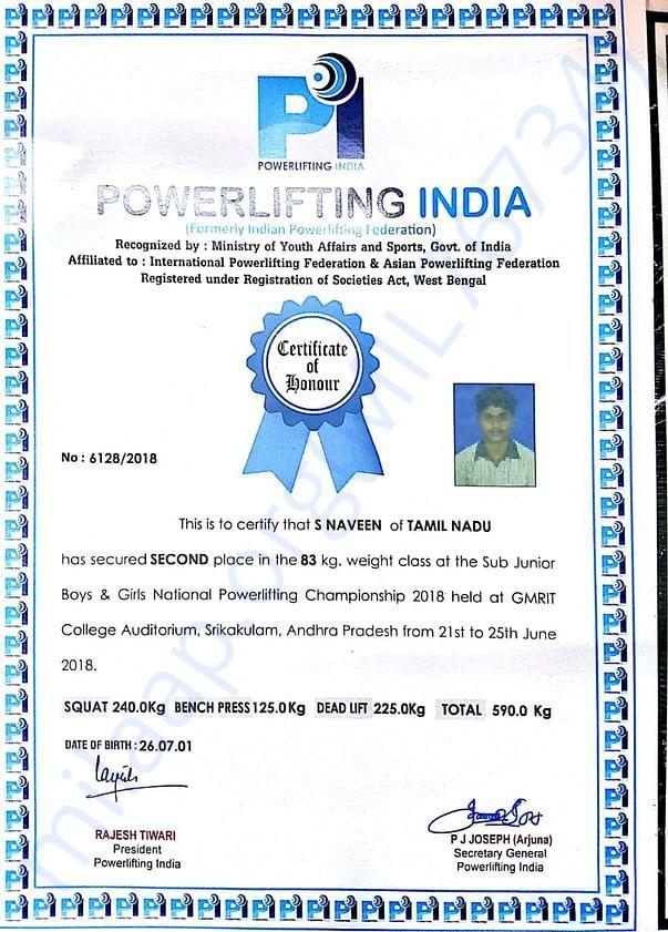 National Powerlifting India