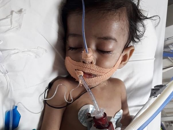 Help 8 Months Old Aarush To Fight Lung Infection