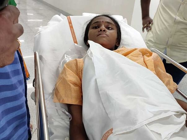 Help Santhoshi Recover From An Infected Gall Bladder