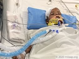 Kishore is gravely injured in an accident and is in ventilator.