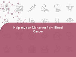 Help my son Mahavinu fight Blood Cancer