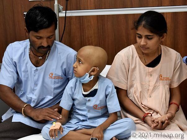 Help Chinmay Fight Neuroblastoma