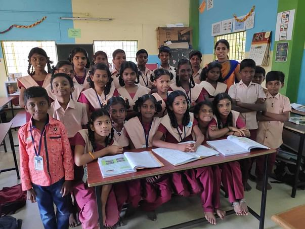 Support the VI A students of CMS MGR Nagar!!!