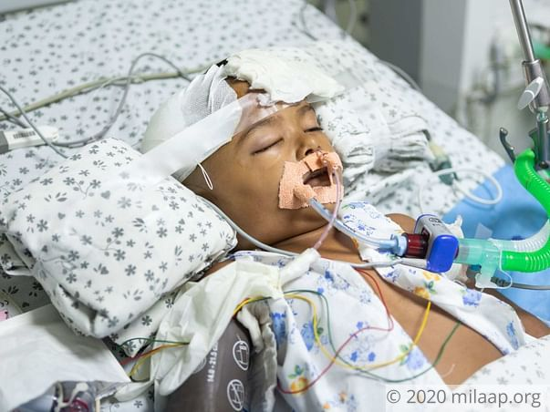 Help Aradhya Undergo An Urgent Decompressive Craniotomy