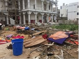 Help In Cyclone Relief In Puri