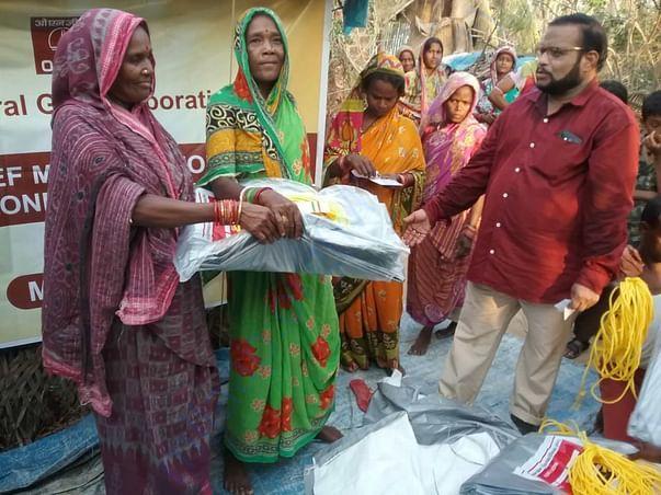 Relief work organized by Gram Utthan