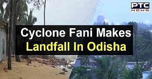 cyclone fani makes landfall