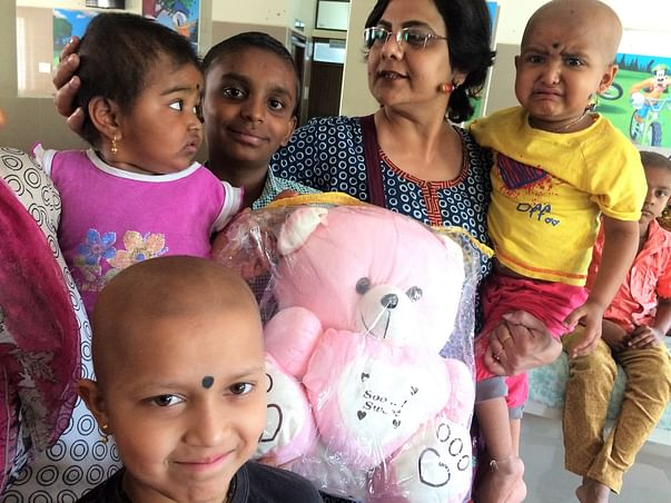 Cancer Treatment ,food and accommodation for poor kids