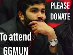 Help Kushagra Attend GGMUN