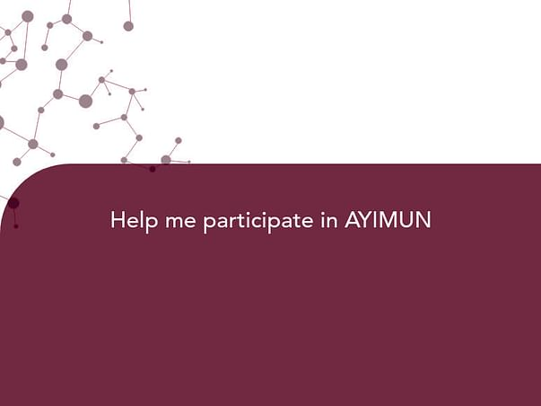 Help me participate in AYIMUN