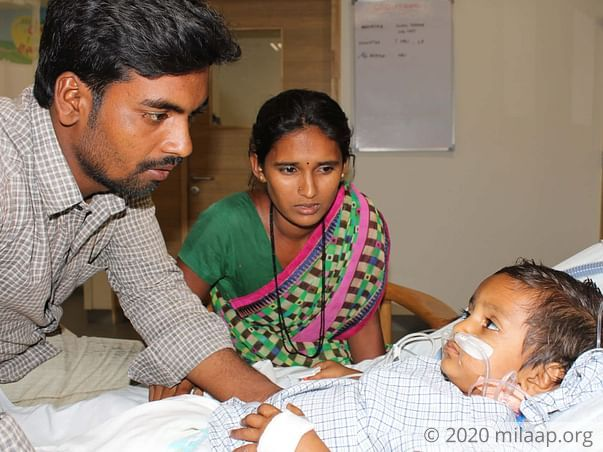 Baby Harshitha needs your help!
