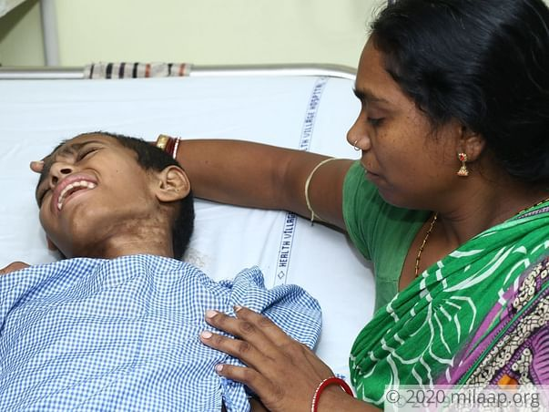 Help Sudhir Recover From Severe Leg Injury