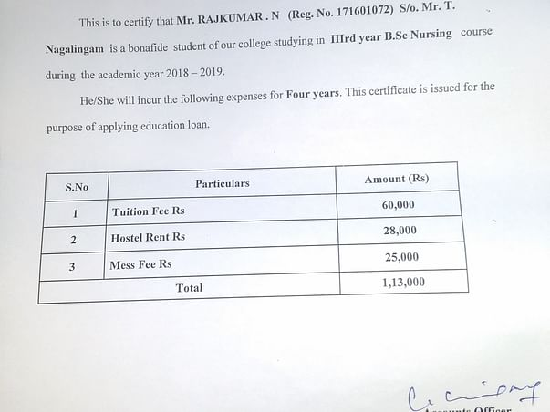 Help Rajkumar to complete B. SC Nursing final year