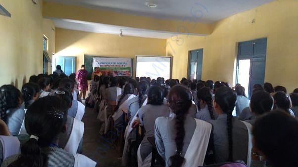 Menstrual hygiene awareness camp in schools
