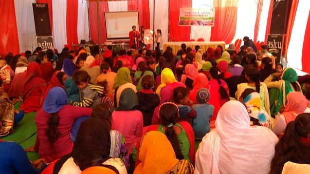 Freed distribution of sanitary pads cum awareness camp