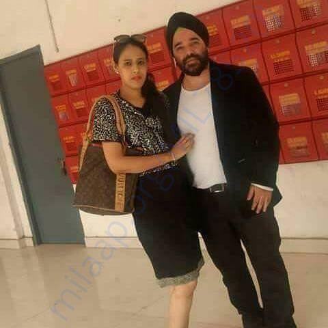 Kirandeep with her husband