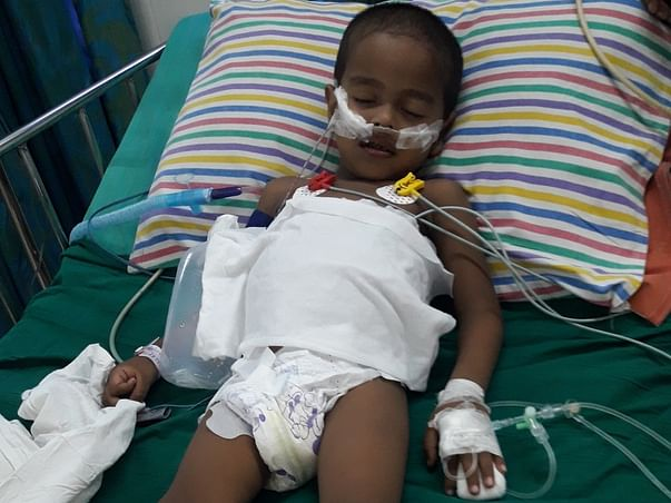 Help Debamrit Recover From Pneumonia and Lungs Infections