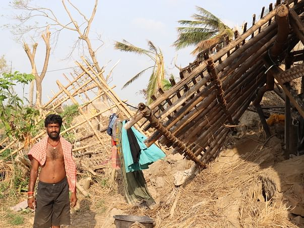 Help Dalit villagers in remote coastal Odisha post Cyclone Fani