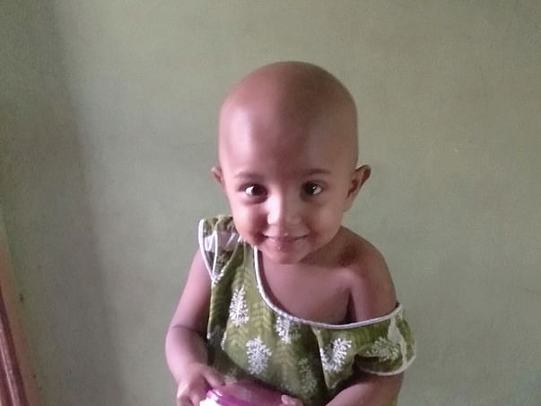Help My Daughter Haleema Fight Cancer