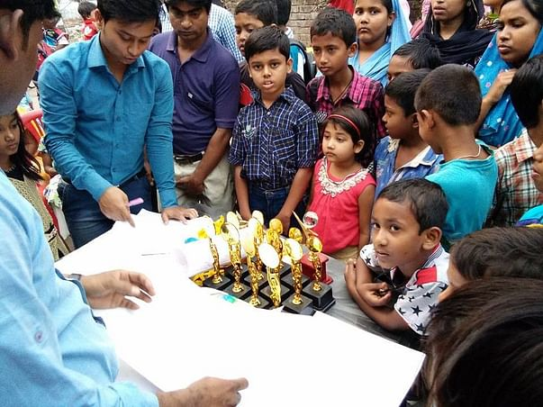 Help Salauddin to Distribute Educational Kit to 200 Poor Students