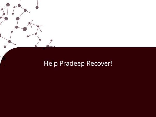 Help Pradeep Recover!