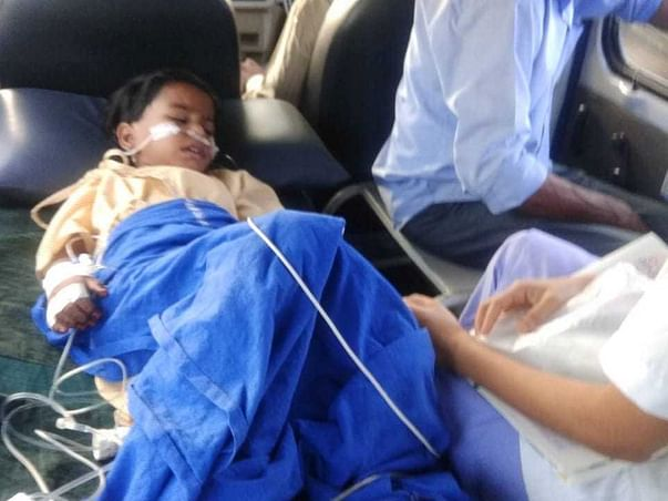 Help my Daughter  Srikruthi survive MOG Neurology disease