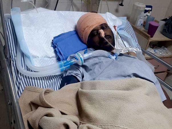 Help Amit Churi fight Craniotomy defect / Intra Crenial Bleed