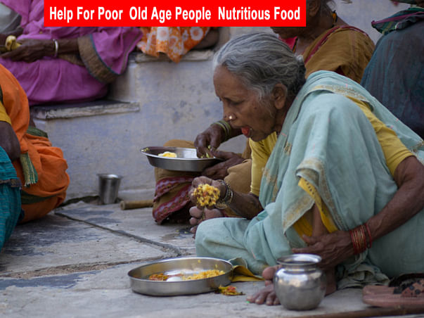 Join Your Hand Free Food Needy Poor Old age