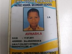 Raise fund for Avinash's studies